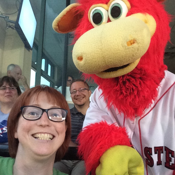 Me, Jenn Dixon, with Cylo! Amy and Sam are in the background.