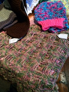 Items donated to WUL to be sold at a craft show.