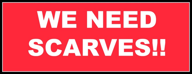 """We need scarves"" image"